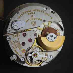 A look at the ref. 215-9 Microtor in-house movement (picture credit: seller on eBay)